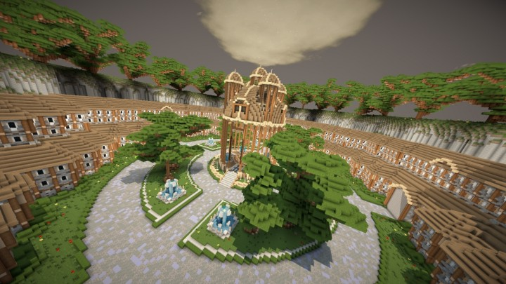 Minecraft Map Lobby/Hub Maps template